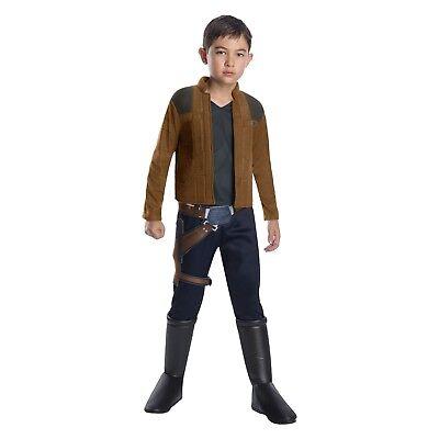Child Star Wars Han Solo Costume Boy S M L Halloween Movie (Han Solo Baby Costume)