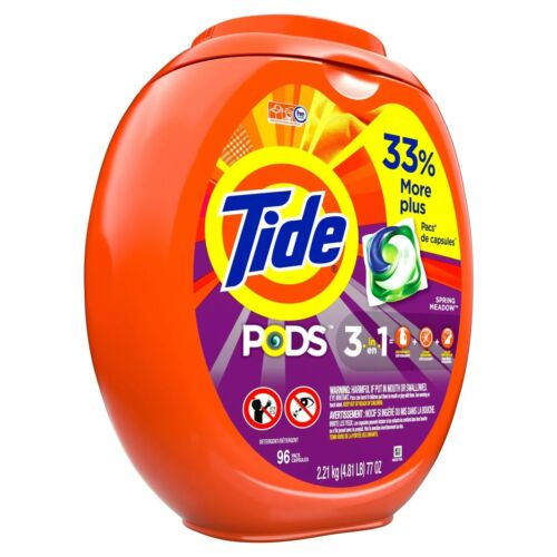 Tide Pods Laundry Detergent Pacs Spring Meadow FREE DELIVERY