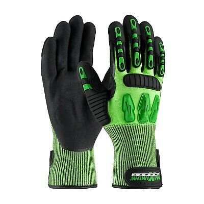 Pip Maximum Safety Gloves 120-5130 Xl Cut Resistant A2 Impact En388 Oilfield