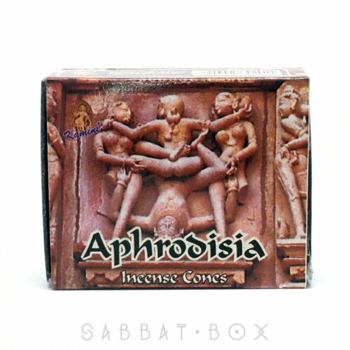 Kamini Aphrodisia Incense Cones (Single Pack - 10 Cones)