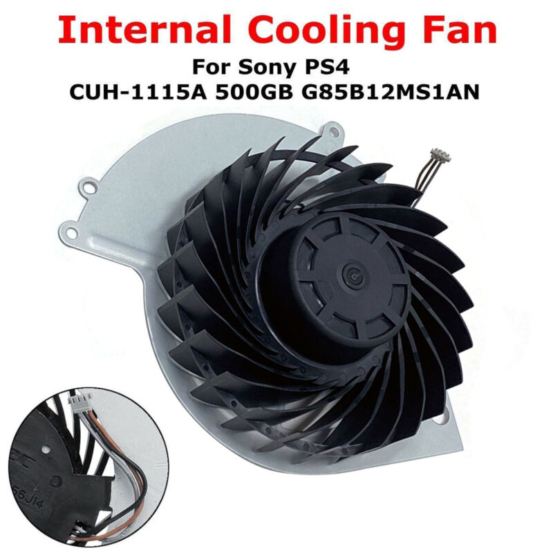 Internal Cooling Fan Replacement For PS4 500GB KSB0912HE CUH-1115A CUH-1001A