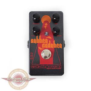 brand new catalinbread sabbra cadabra tony iommi style overdrive pedal ebay