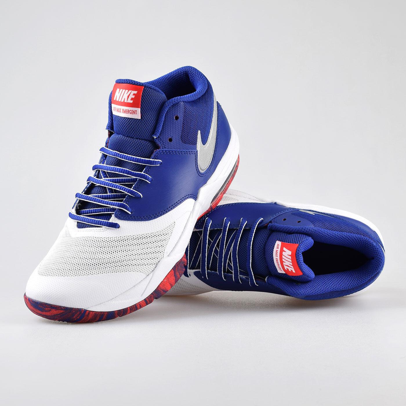 Dettagli su Nike Air Max Emergent Basketball Shoes Blue 818954 104 Mens Size 9 10 12