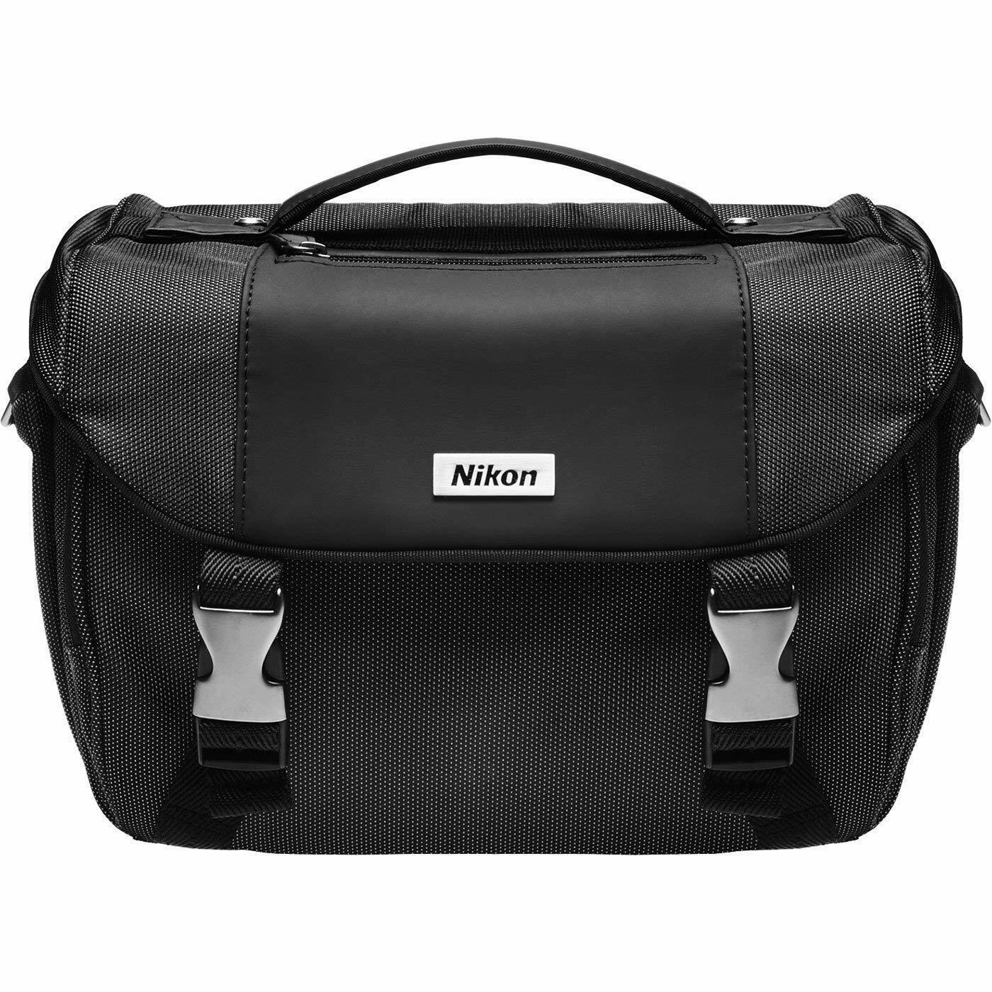 Nikon Large DSLR Camera Gadget Bag with Lens Case for D3200 D3400 D5100 D7100