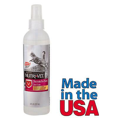 Anti Cat - Cat Anti Scratch Spray Made in USA for Stop Scratching on Furniture 8 Oz