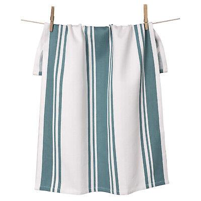 KAF Home Centerband Oversized Kitchen Towel, 100% Cotton, Teal