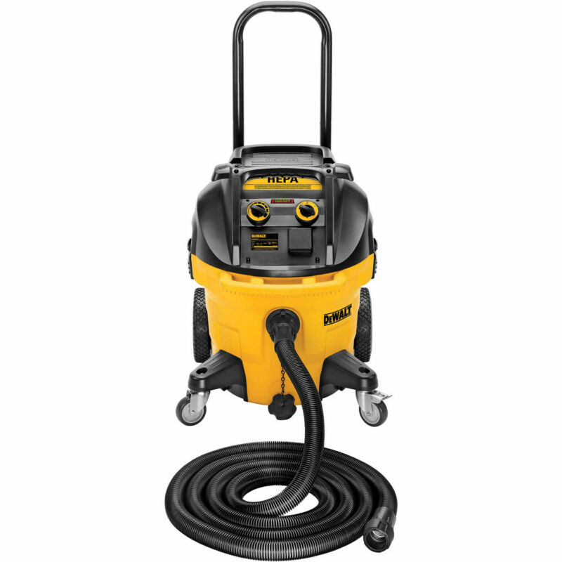 DeWalt DWV012 10 Gallon HEPA Dust Extractor with Automatic Filter Clean