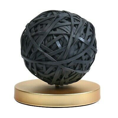 Desktop Rubber Band Ball With Stand Blackgold-west Emory-hott Deals-lot Of 2