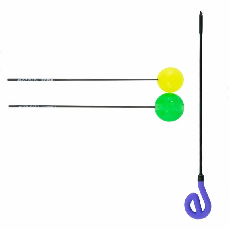 Friction Mallet Set with Acoustic Percussion and eGong Wand
