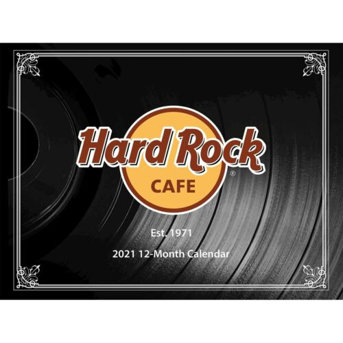Hard Rock Cafe 2021 CALENDAR Online Exclusive SOLD OUT