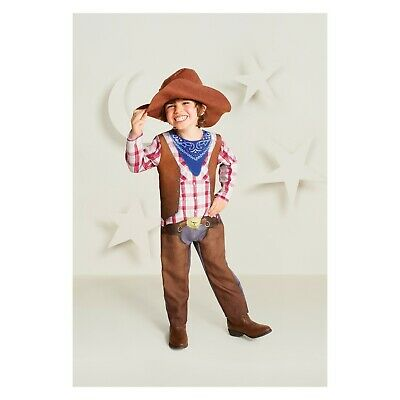 Hyde & Eek Boutique Cowboy Toddler Child Halloween Hat Costume Dress Up NEW (Toddler Costumes Halloween)