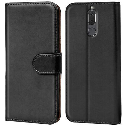 (Case Cover Huawei Mate 10 Lite Magnetic Flip PU Leather Wallet Holder Shell Bag)