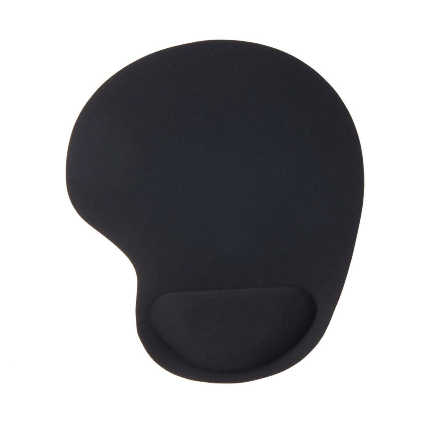 Mouse Mat Pad Comfy Computer Wrist Comfort New Black