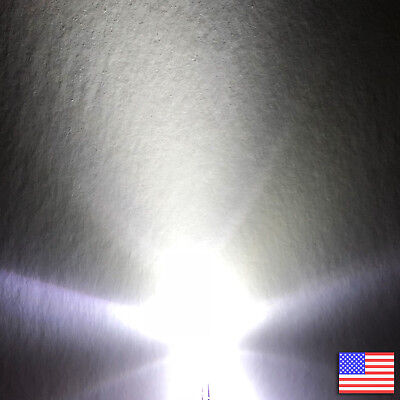 20x 20pcs 3mm Round Cool White Led Bright Light -us Seller -fast Free Shipping