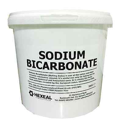 SODIUM BICARBONATE of Soda | 10KG BUCKET | 100% BP/Food Grade | Bath, Baking