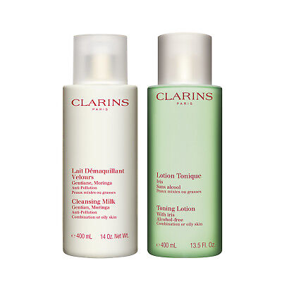 Clarins Cleansing Duo for Oily/Combination Skin (Luxury -