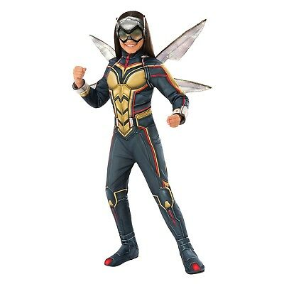 Girls' Marvel Wasp Avengers Deluxe Halloween Costume Size: - Wasp Marvel Kostüme