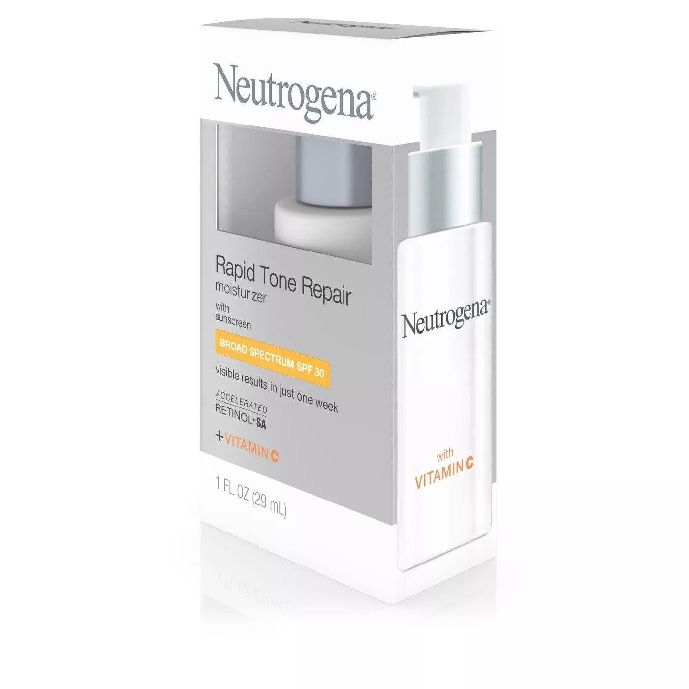 Neutrogena Rapid Tone Repair Daily Facial Moisturizer with R