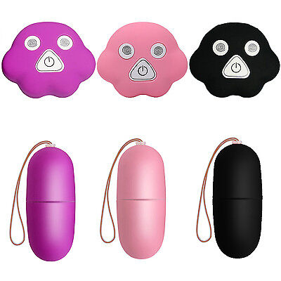 UP 20Frequency Waterproof Wireless Remote Control Massager Egg Vibrator Toys