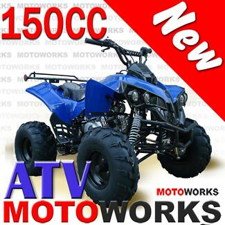NEW MOTOWORKS 150CC RAIDER ATV QUAD 4 Wheeler BIG BIKE