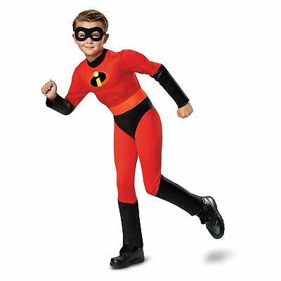 Dash Muscle Costume S M Incredibles Boys Halloween Kid Child