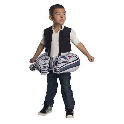 NEW Millennium Falcon Toddler Costume Star Wars One Size OSFM Han Solo - New Falcon Kostüm
