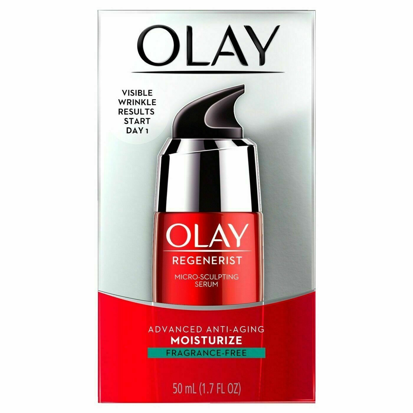 Face Serum with Collagen Peptide by Olay Regenerist, Fragran