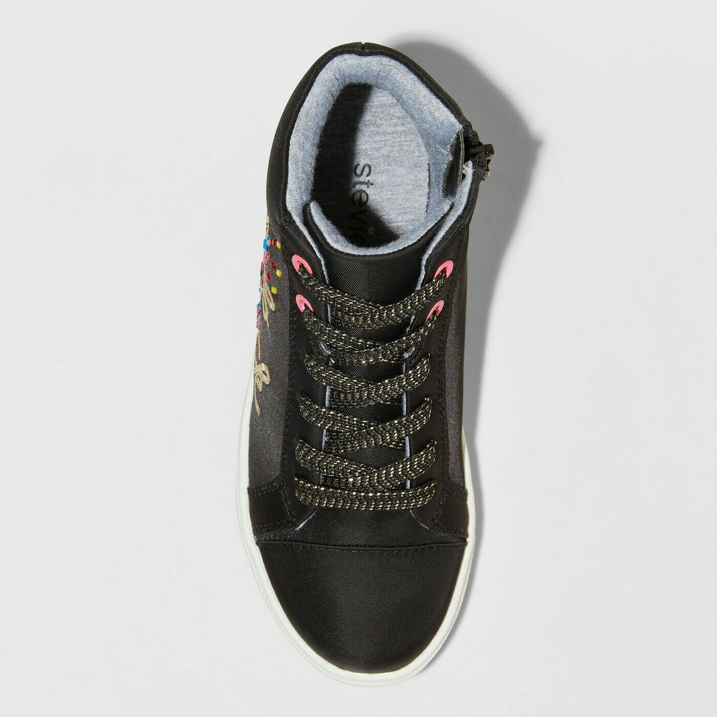 Art Class Stevies Girls/' Camero Rock High Top Sneakers Black Choose Size 3-4 NWT