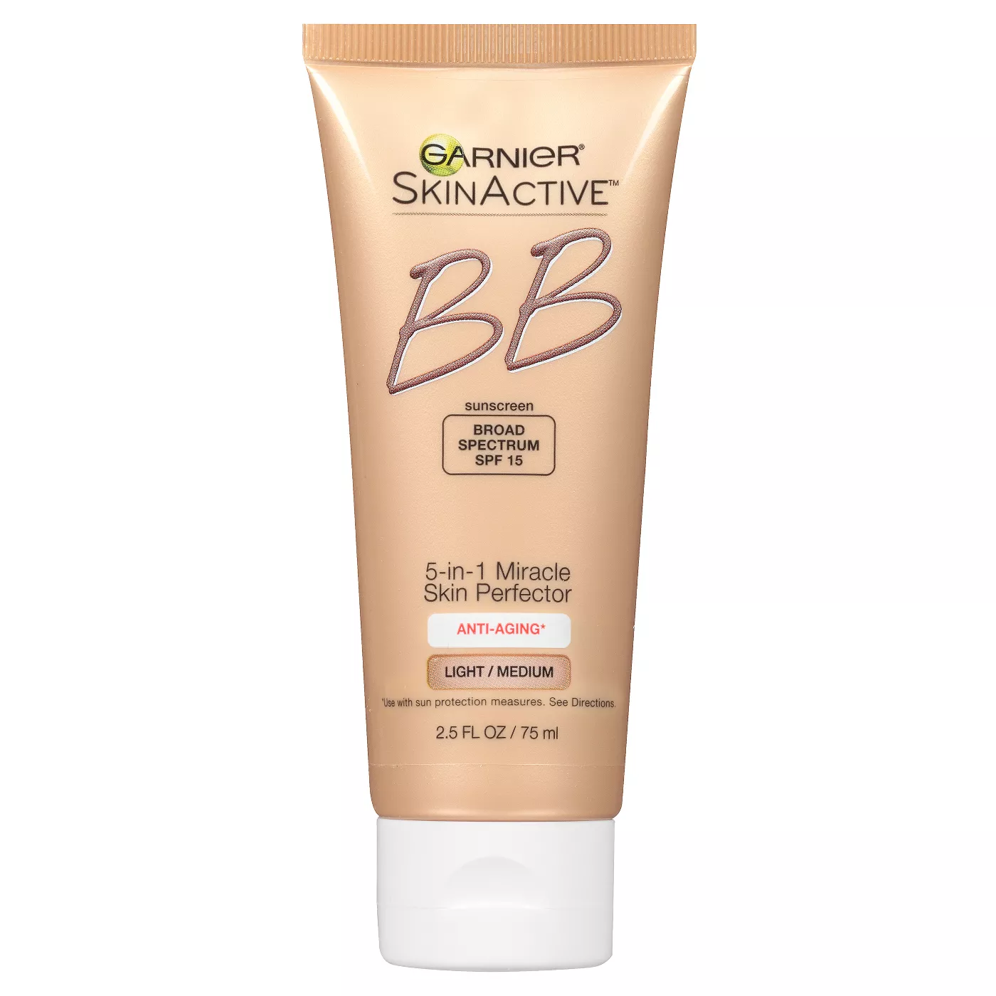 SkinActive Miracle Skin Perfector BB Cream Anti-Aging 2.5 fl