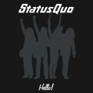 STATUS QUO HELLO DELUXE 2 CD ALBUM SET (December 4th 2015)