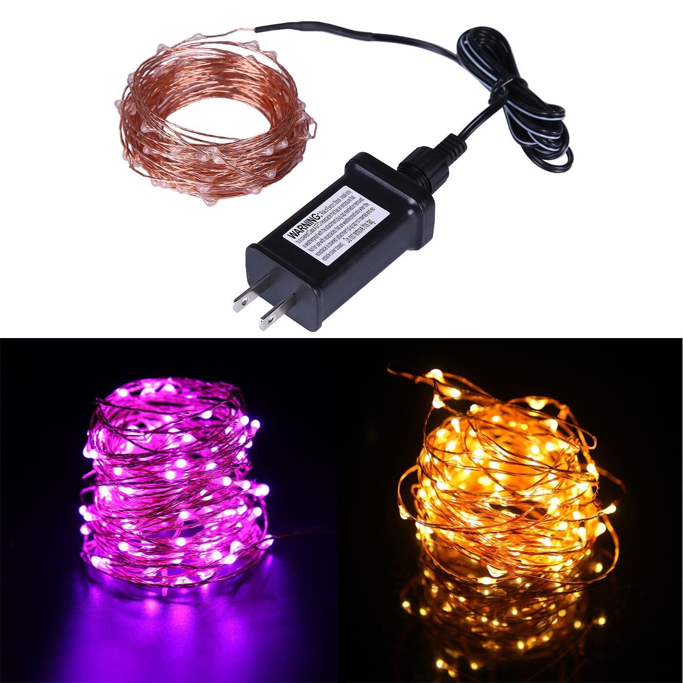 Waterproof LED String Lights Indoor/Outdoor Lighting Fairy S