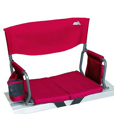NEW RIO GEAR BLEACHER BOSS COMPACT STADIUM SEAT, FULL SIZE,