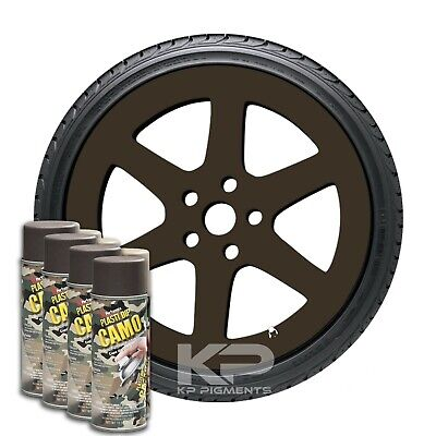 Plasti Dip Camo Brown Rubber Coating Aerosol Spray Cans 11 Oz. 4 Pack Wheel Kit