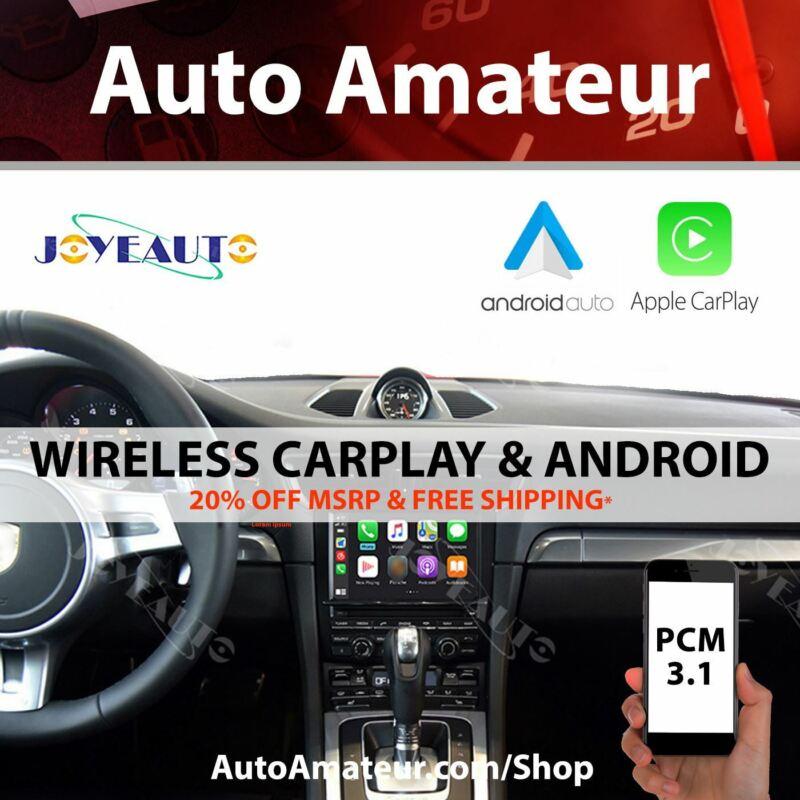 JoyeAuto for Porsche PCM 3.1 Apple CarPlay & Android Auto (Wireless)