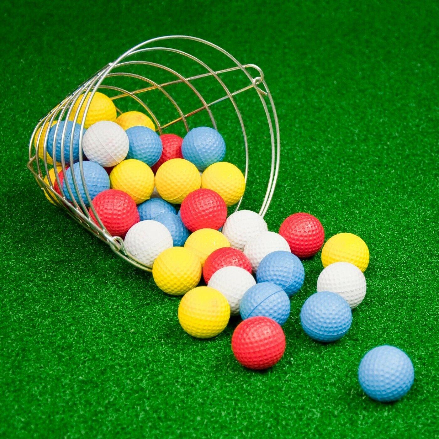golf balls with basket 42 pk foam
