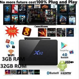 2017 MODEL! X92 3GB 32GB Smart TV Box Octa-core RAM S912Kodi Box Chadstone Monash Area Preview