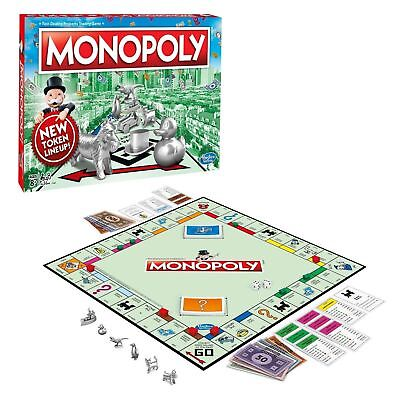 SEALED Monopoly Board Game Classic Complete New Family Edition  - Monopoly Classic Edition