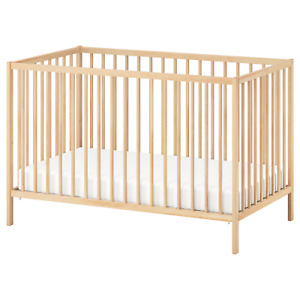 Ikea Crib converts to toddler bed