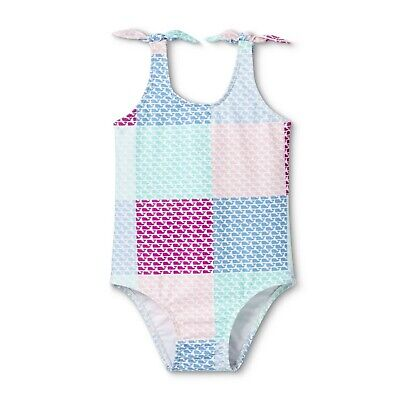 Vineyard Vines for Target Toddler Girls Patchwork Whale One Piece Swimsuit 2T - Toddler Swimsuits For Girls