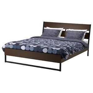 IKEA TRISIL double Bed Frame and Mattress
