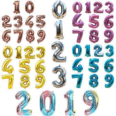 Mylar Number Balloons (32