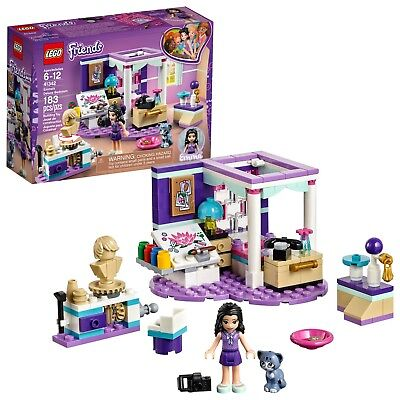 LEGO Friends Emma's Deluxe Bedroom 41342 Building Toy Kit Set for Girls 6-12 NEW