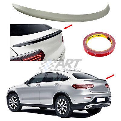 Spoiler für Mercedes Glc Coupe C253 Querruder ABS Kunststoff + Aufkleber 3M