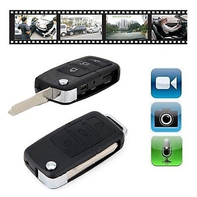 Mini Car Key Fob DVR Motion Detection Camera Hidden Spy Cam Video Recorder