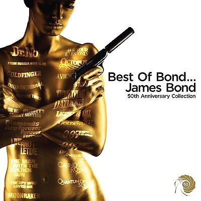 New  Best of Bond... James Bond 50th Anniversary Collection 007/oo7 Audio