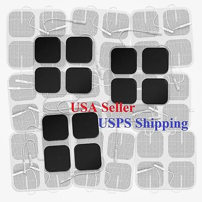 TENS UNIT ELECTRODE PADS EMS PIN Replacement Pads TENS Unit Pulse Massager