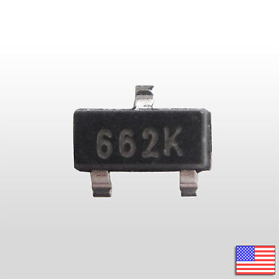10x 10pcs 3.3v Voltage Regulator Xc6206 662k Smd Sot-23 500ma Ldo - Fast Us Ship