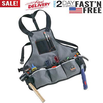 Electrician Tool Bag Pocket Heavy Duty Canvas Carpenter