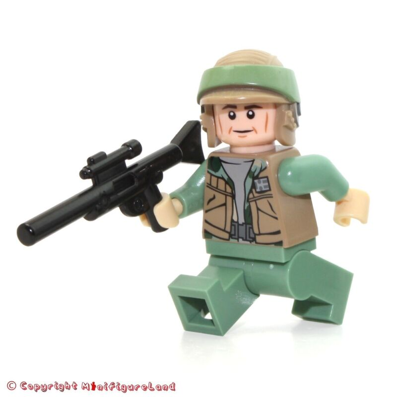 Dark Tan Vest LEGO STAR WARS Rebel Commando MINI FIG // MINI FIGURE
