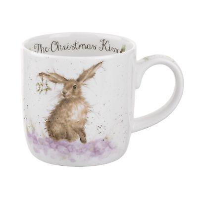 Royal Worcester - Wrendale Designs Christmas with a Kiss Mug